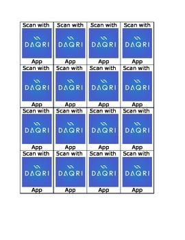 Daqri Scan Tags