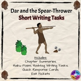 Dar and the Spear-Thrower Short Writing Tasks