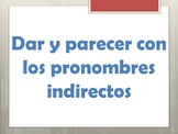 Spanish Indirect Object Pronoun Grammar Notes and PowerPoint