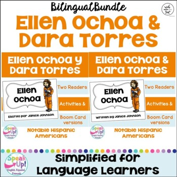 Dara Torres & Elena Ochoa Readers {Hispanic Heritage Month} Bilingual version