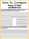 Dare to Compare! Roman 12 Tables and Modern American Law