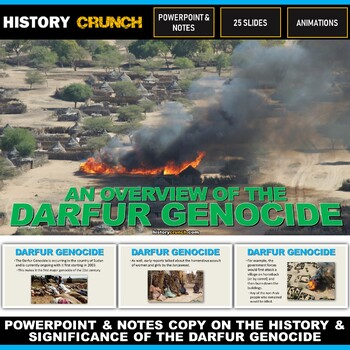 Darfur Genocide - PowerPoint with Notes Copy