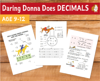 Daring Donna Does Decimals (9-12 years)