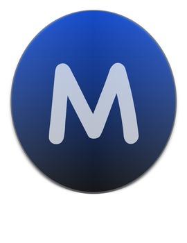 Dark Blue MUSIC banner