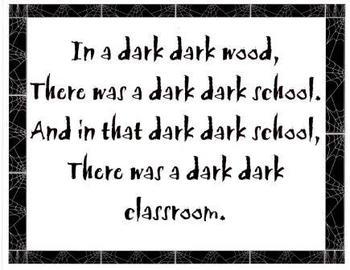 Dark Dark Classroom Class Book