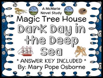 Dark Day in the Deep Sea : Magic Tree House #39 (Osborne) Novel Study