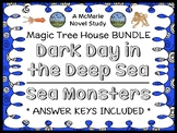 Dark Day in the Deep Sea | Sea Monsters : Magic Tree House BUNDLE (Osborne)