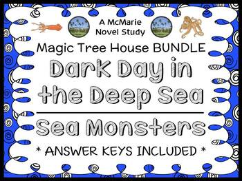 Dark Day in the Deep Sea | Sea Monsters : Magic Tree House