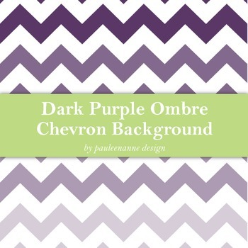 Dark Purple Ombre Chevron Background