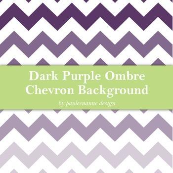 Dark Purple Ombre Chevron Background