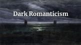 Dark Romanticism Literary Movement Introduction Notes