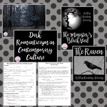 Dark Romantics Unit - American Literature - High School ELA