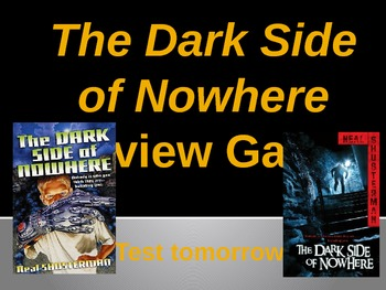 Dark Side of Nowhere Review Game
