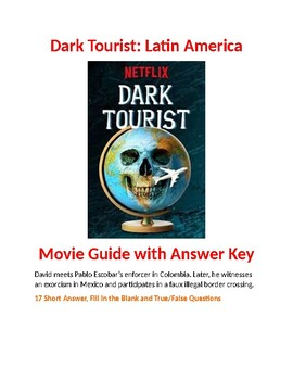 Dark Tourist: Latin America Movie Guide with Answer Key