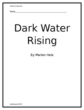 Dark Water Rising- Answer Key Only