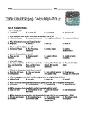 Dark Water Rising Quiz: Chapters 1-11