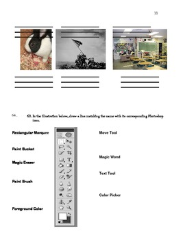 Darkroom Photography Final Exam - High School and Adult Ed