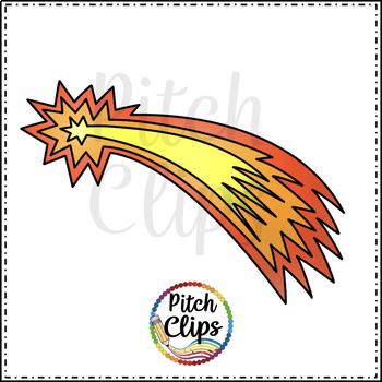Darlene's Comet Clip art (Clip Art) Flying Star - Commercial Use, SMART OK!
