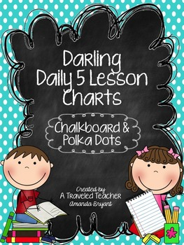 Darling Polka Dot Daily 5 Charts