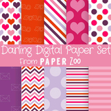 Darling Digital Paper Set