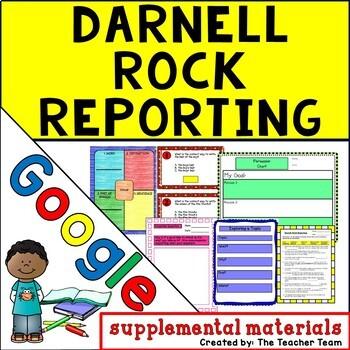Darnell Rock Reporting Journeys 5th Grade Unit 4 Google Drive Resource