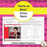 """Darte un Beso"" & Indirect Object Pronouns"