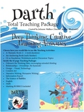 Darth Total Teaching Package (37 pages of activities + Darth picture book)