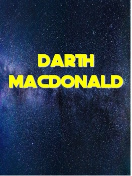 Darth MacDonald - A Folk Song/Star Wars Mash-Up for Beginning Band