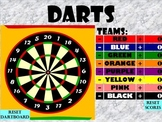 Darts Question and Answer Game Template