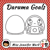 Daruma Doll Goals in Japanese
