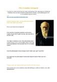Darwin & Extinctions Webquest- Elementary and Middle Schoo