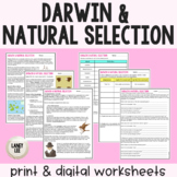 Darwin, Natural Selection, & Evolution - Guided Reading -