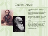 Darwin & The Voyage of the Beagle Powerpoint