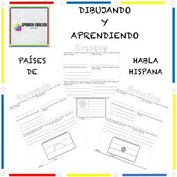 Drawing and Learning with Spanish Speaking Countries - Dibujando y Aprendiendo