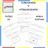Drawing and Learning with Spanish Speaking Countries - Dib