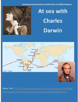 Darwin, his voyage & life Infographic hyperlink & crossword puzzle