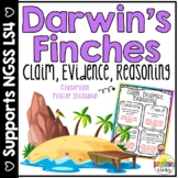 Darwin's Finches Informational Text and CER {NGSS and CCSS Aligned}