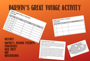 Darwin's Great Voyage Activity