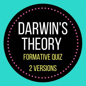 Darwin's Theory Quiz