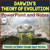 Evolution PowerPoint and Notes   Printable and Digital Distance Learning