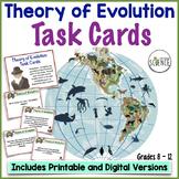 Evolution Task Cards   Printable and Digital Distance Learning