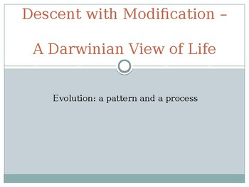 Darwin's View of Life