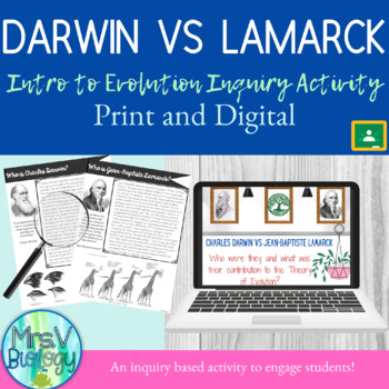 Darwin vs Lamarck: Inquiry into the Theory of Evolution