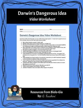 Darwin's Dangerous Idea PBS Video guided reading