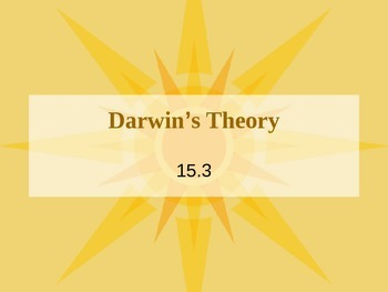 Darwin's Theory PowerPoint