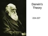 Darwin's Theory PowerPoint Presentation