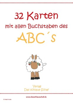 Das Abc der Tiere in Deutsch_ Flashcards