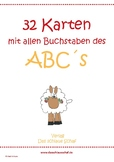 Das Abc der Tiere in Deutsch_ Flashcards