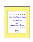Das Perfekt * Pac ~ Activities For German Class