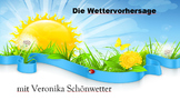 (German Language /Geography Basics) Das Wetter! Tell the W